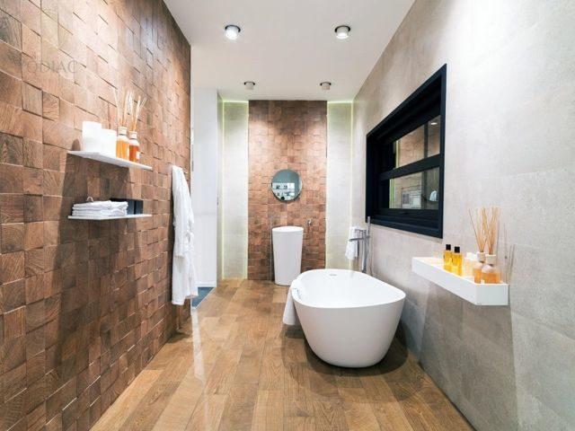 Ламинат в ванной