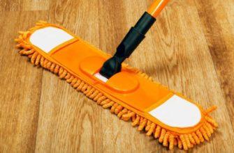 Способы очистки линолеума от пятен