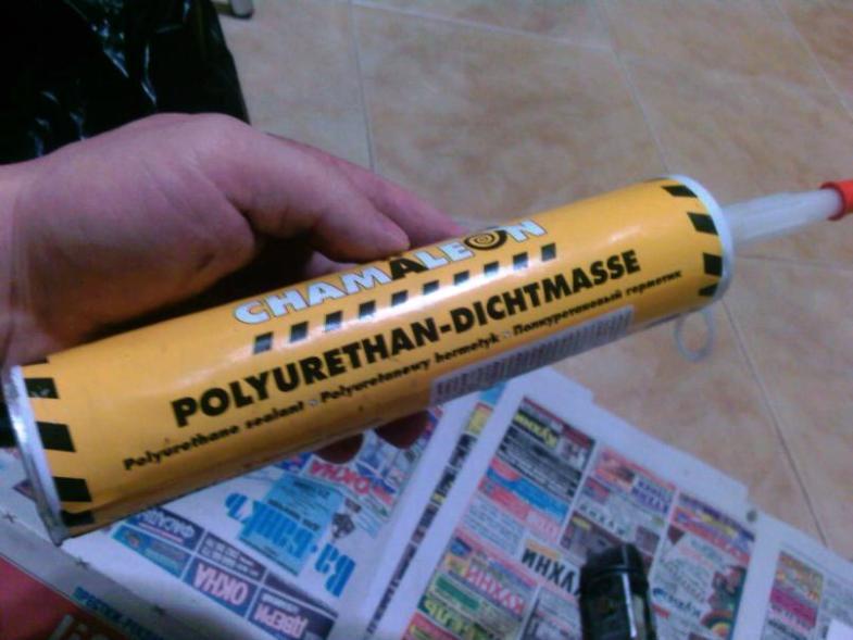 Герметик из полиуретана