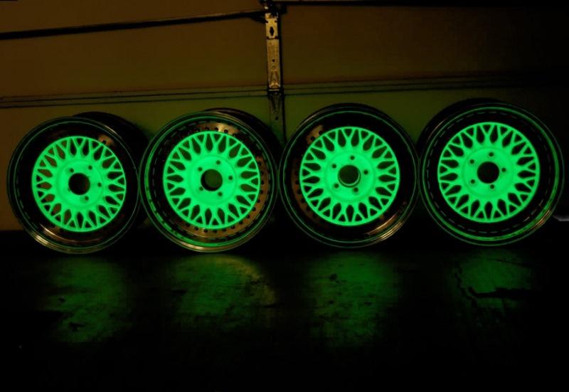 Краска флуоресцентная что это