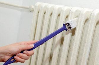 краска для труб отопления без запаха