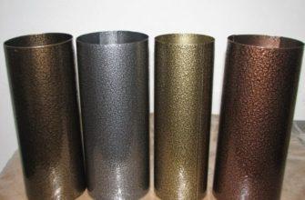 Как красить порошковой краской по металлу
