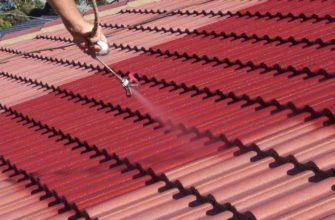 Резиновая краска для крыши из металла