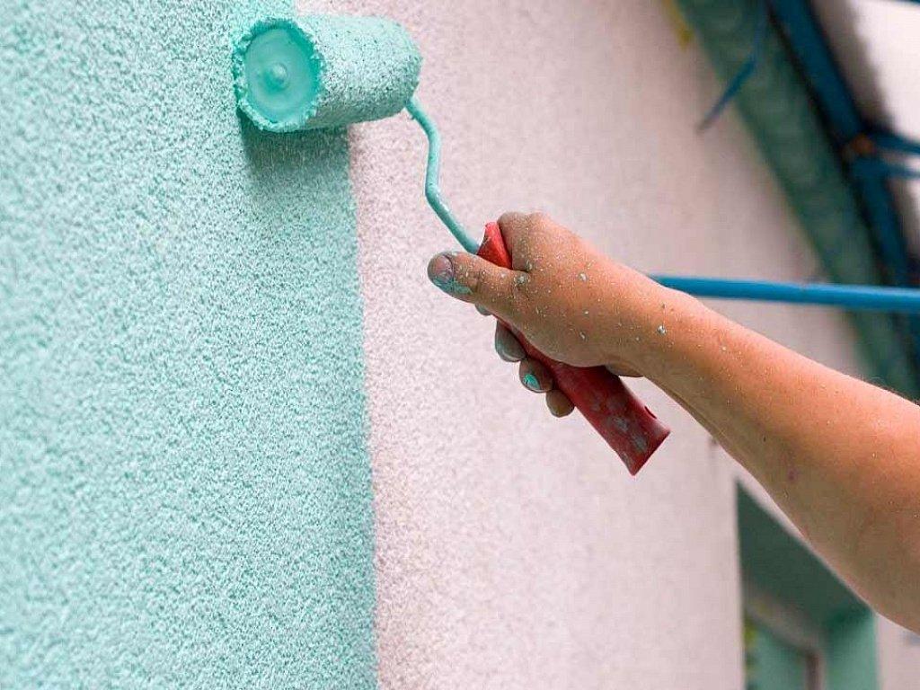 Краска водоэмульсионная для стен и потолков