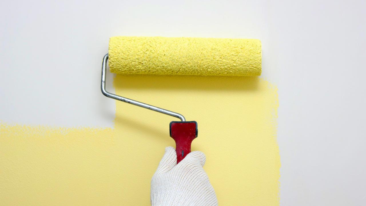 Каким валиком лучше красить стены водоэмульсионной краской